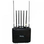 Jammer up to 150m 7 Bands 175W GSM 2G 3G 4G 2.4Ghz WIFI GPS Portable